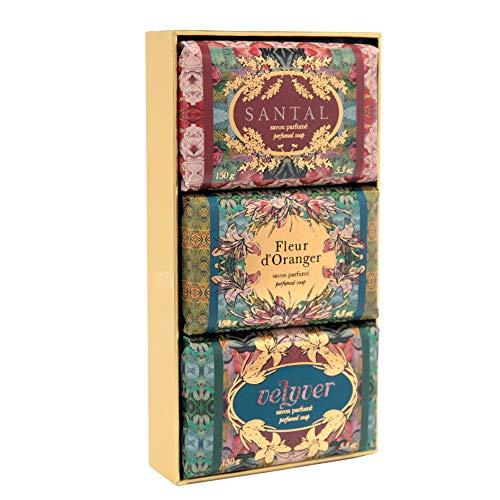 Fragonard Parfumeur Perfumed Soaps Set - 3 x 150 g ()