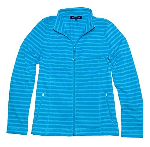 jones-new-york-womens-full-zip-mock-neck-jacket-xl-turquoise