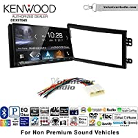Volunteer Audio Kenwood DDX9704S Double Din Radio Install Kit with Apple Carplay Android Auto Fits 2003-2005 Nissan 350Z (Without Bose)