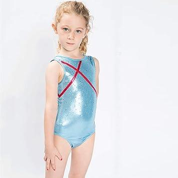 Amazon.com: AcEiffel - Maillot de gimnasia para niña, color ...