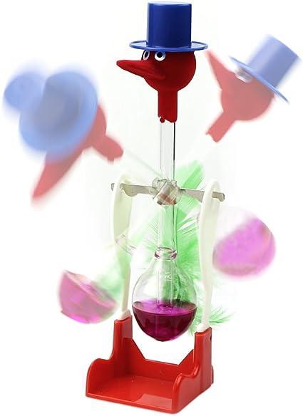 Retro Novelty Dippy Drinking Bird Glass Dipping Duck Einstein Toy Happy Bobbing
