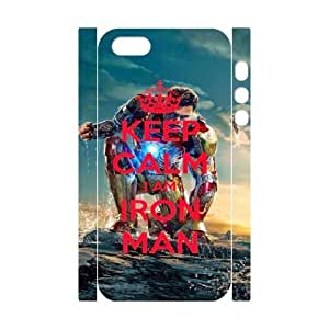 KEEP CALM TY0083974 3D Art Print Design Phone Back Case Customized Hard Shell Protection Iphone 5,5S
