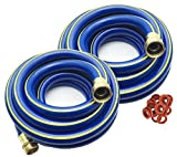 KAPOK Garden Hoses with Brass Fitting Connectors- Varies Review and Comparison