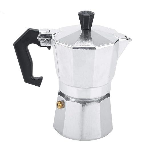 Cafetera, Aluminio Tipo Italiano Moka Pot Cafetera Espresso Estufa ...