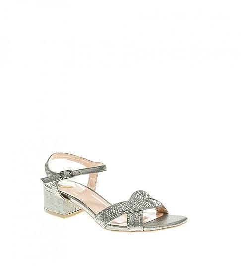 cb0de777d2a Zapato Fiesta - Mujer - Plomo - destroy - 331861  Amazon.es  Zapatos y  complementos
