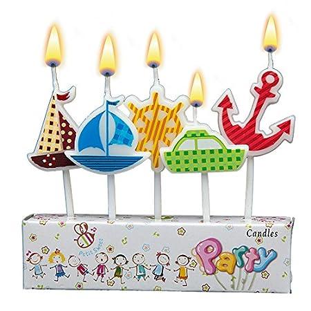 Velas de cumpleaños de los niños de Dibujos Animados ...