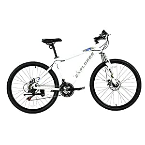 FORD BY DAHON EXPLORER 21-SPEED ALUMINUM ALLOY MOUNTAIN BIKE WITH DISC BRAKES