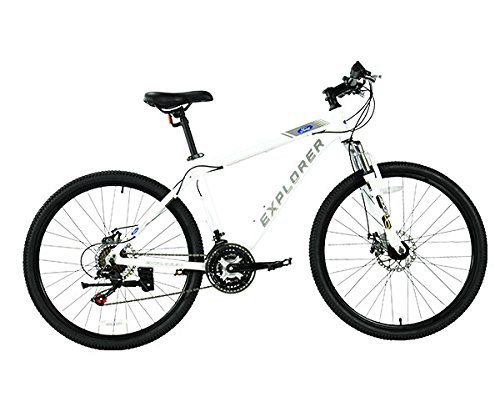 FORD BY DAHON EXPLORER 21-SPEED ALUMINUM ALLOY MOUNTAIN BIKE WITH DISC BRAKES by Mustang