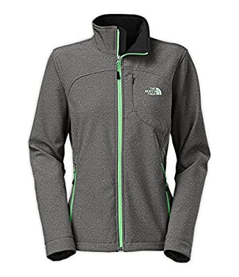 The North Face Women's Apex Bionic Jacket TNF Black Heather Size Large
