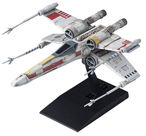 (Japan Action Figures - Vehicle Model 002 Star Wars X-Wing Starfighter PlasticAF27)