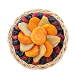 Vacaville Dried Fruit Gift Basket, Peaches, and Plum, Healthy Snack Gift