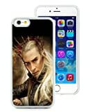 iPhone 6 Case,The-Hobbit-The-Desolation-Of-Smaug-Thranduil White iPhone 6S 4.7 Inches Cover Case,Fashion TPU Case