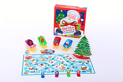 Zobmondo!! The Santa Claus Game, Holiday Board Game – Award Winning, Holiday Game, Christmas Game, Kids Board Game, Educational Game, Xmas Game, Easy Game This Holiday