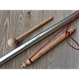 """Om Pipe Pipe 136.10 Hz 41"""" Long for Healing with Wooden Mallet"""