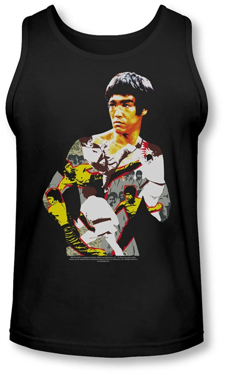 Bruce Lee - Mens Body Of Action Tank-Top