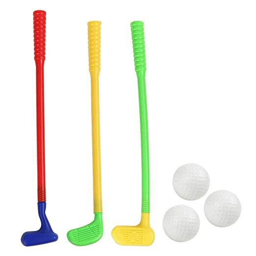 Amazon.com: Toyvian Children Kids Plastic Golf Toys Mini ...