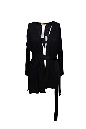 outlet store 1a802 94f38 Twin-Set Cardigan Donna M Nero 191tp3064 Primavera Estate ...