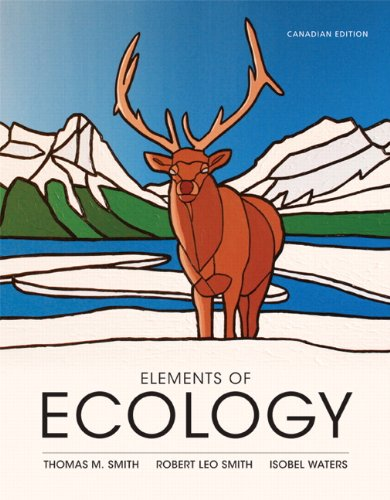 Elements of Ecology, First Canadian Edition
