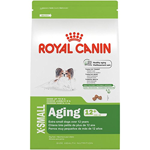 Royal Canin Size Health Nutrition X-Small Aging 12+ Dry Dog Food, 2.5 Lb