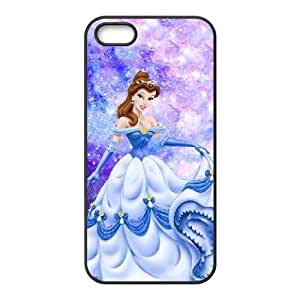 iphone5 5s Black phone case Disney Cartoon Characters Belle DMU5281289
