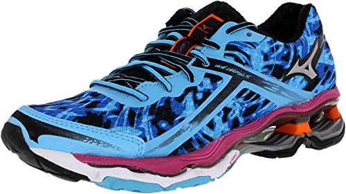 Mizuno Women's Wave Creation 15 Running Shoe,Blue,7 B US