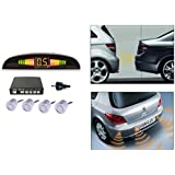 Autosun Reverse Car Parking Sensor LED Display Silver Maruti Suzuki Alto-800