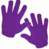 (Pair) 2 X MyProStyler PURPLE THERMAL Heat Resistant Glove Use For Hair Styling Tools