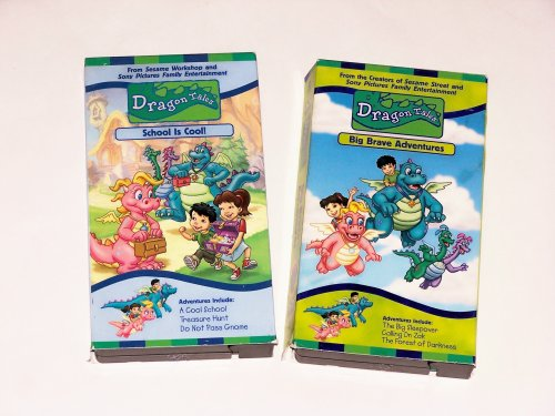Dragon Tales Video Collection (2 Pak) School Is Cool and Big Brave Adventure for $<!---->
