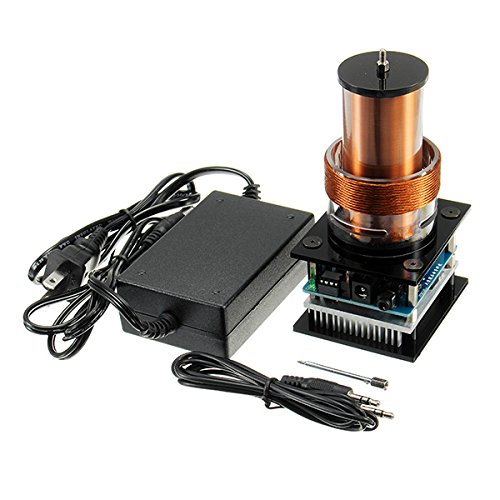 Prament AC 100-240Vハイパワー音楽テスラコイルプラズマスピーカー(アダプター付) COD   B07JRF8LMQ