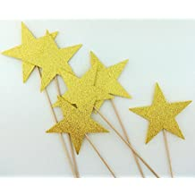 Stars Photo Booth Props Center Pieces Magic Wands 6 Pieces