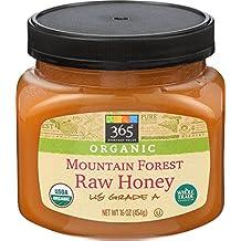 365 Everyday Value Organic Mountain Forest Honey Raw, 16 oz