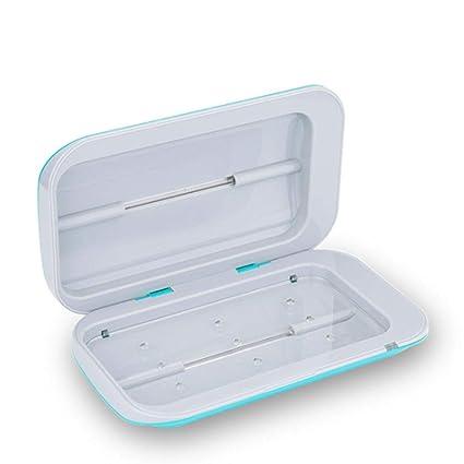 Esterilizadores Esterilizador UV Esterilizador para teléfono Limpiador para teléfono celular desinfectante para teléfonos inteligentes, cargador