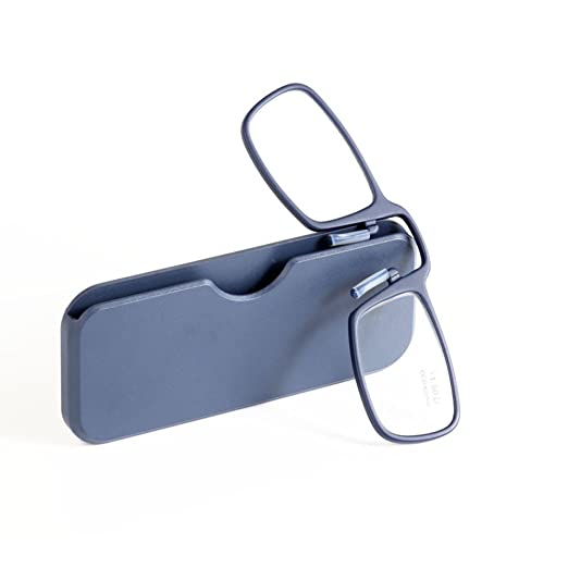 34bcf3aa2c47 Amazon.com  Pince Nez Reading Glasses Style Clip Nose Resting Pinching  Reader Portable Eyeglasses for Men Women  Health   Personal Care
