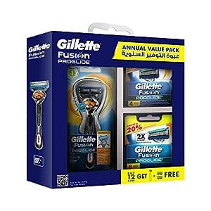 Gillette Fusion ProGlide Annual Value Pack: 1 Razor + 14 Blades