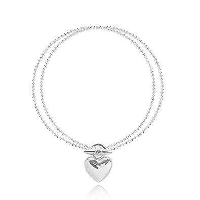 Joma Jewellery Ruby Heart Bracelet (1607) ikJpWE2zmm