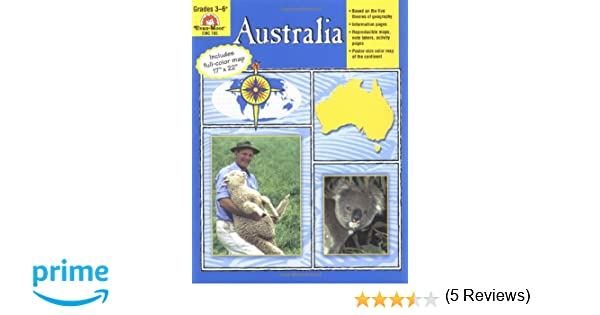 Workbook continents for kids worksheets : Australia: Grades 3-6: Jo Ellen Moore, Evan-Moor Educational ...