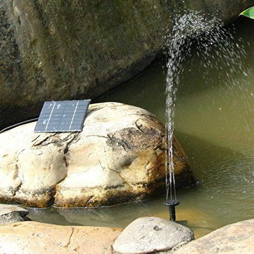 Zehui–7V ahorro Bomba Sumergible bombas de agua solar para estanque de jardín solar powered Fountain