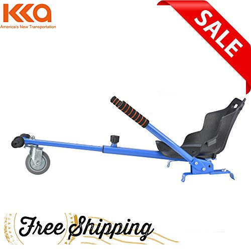 Better wheels Mini Kart Hover Go Kart Adjustable Go Kart Seat Hover Kart(blue) Stand for 6.5 8 10