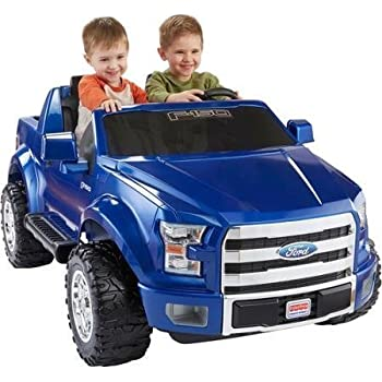 Fisher-Price Power Wheels Ford F-150 12-Volt Battery-Powered Ride-On, Blue