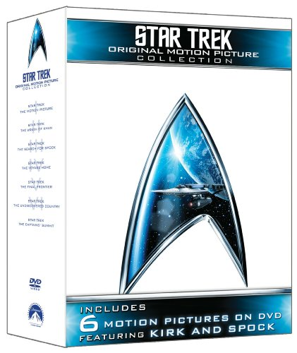 Star Trek: Original Motion Picture Collection (Star Trek I, II, III, IV, V, VI + The Captain's Summit Bonus Disc) by Paramount