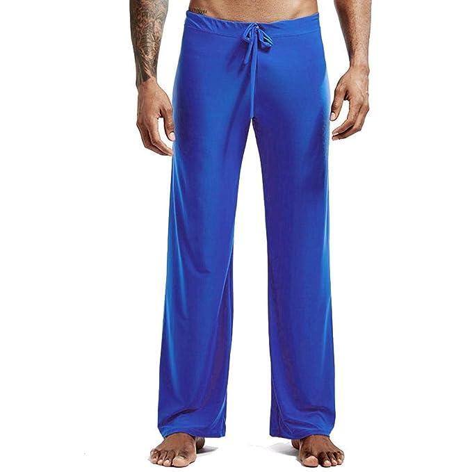 Pantalones de Yoga, Pijama casero de Seda de Hielo para ...