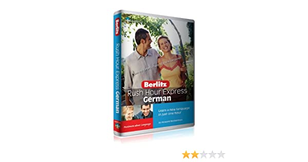 Amazon Rush Hour Express German Learn A New Language In Just