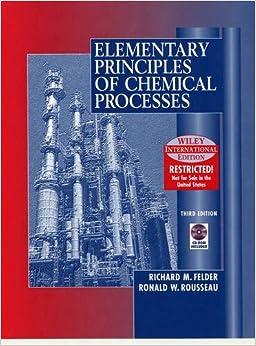 Descargar Torrent La Libreria Elementary Principles Of Chemical Processes 3e Wie Documento PDF