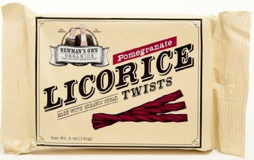 Newman's Own Organics - Licorice Twists Pomegranate - 5 oz.
