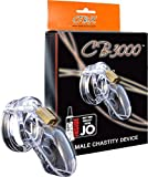 CB-3000 Male Chastity Device, Clear