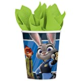 Zootopia 9oz Paper Cups 8 count