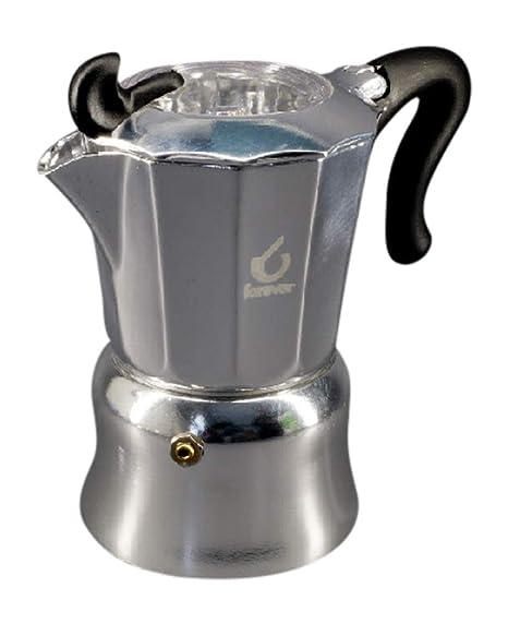 Cafetera aluminio con buey 1 taza: Amazon.es: Hogar