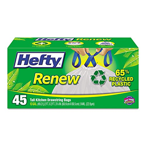 Hefty Kitchen Trash Recycled Plastic product image