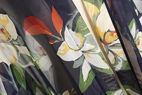 bagno fiore Lungo Donna ragazze Sciarpe 3 Extra da UV Blu solare Protezione Spiaggia Nappe Copricostumi Bambine Wrap e Vacanza Costumi Azzurro aXtwEq
