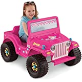 Power Wheels Barbie Jeep Wrangler [Amazon Exclusive]